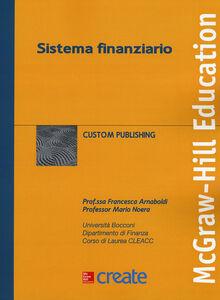 Libro Sistema finanziario