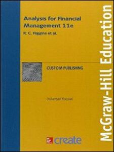 Libro Analysis for financial management