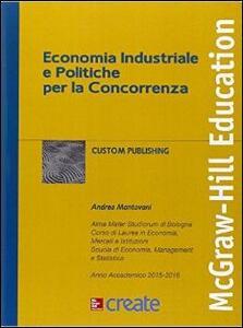 Economia industriale e politiche per la concorrenza - copertina