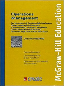 Libro Operation management