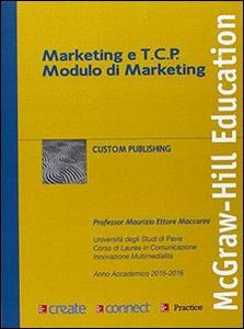 Libro Marketing e TCP modulo di marketing