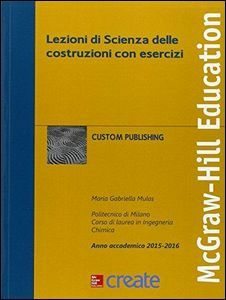 Libro Lezioni di scienza delle costruzioni con esercizi