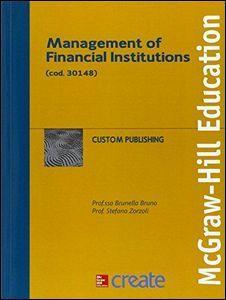 Foto Cover di Management of financial institutions, Libro di  edito da McGraw-Hill Education