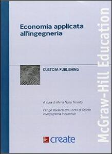 Economia applicata all'ingegneria - copertina