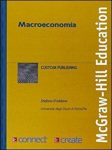Foto Cover di Macroeconomia, Libro di  edito da McGraw-Hill Education
