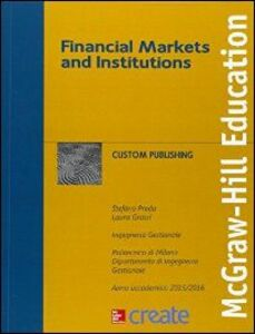 Libro Financial markets and institutions