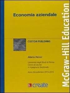 Foto Cover di Economia aziendale, Libro di  edito da McGraw-Hill Education