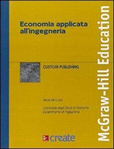 Libro Economia applicata all'ingegneria