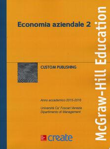 Foto Cover di Economia aziendale 2, Libro di  edito da McGraw-Hill Education