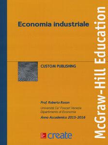 Libro Economia industriale Roberto Roson