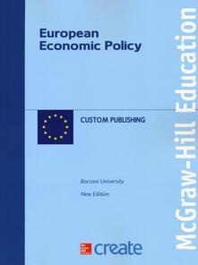 European economic policy - copertina