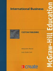 International business - Alessandro Marino,Guido Carli - copertina