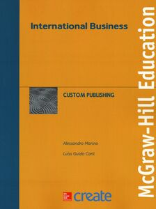 Libro International business Alessandro Marino , Guido Carli
