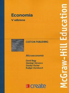 Foto Cover di Economia, Libro di  edito da McGraw-Hill Education