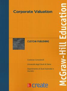 Corporate valuation - Costanza Consolandi - copertina