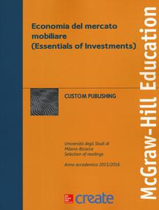Libro Economia del mercato mobiliare (Essentials of Investments)