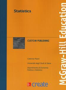 Statistics - Caterina Pisani - copertina