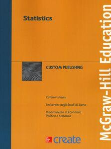 Libro Statistics Caterina Pisani