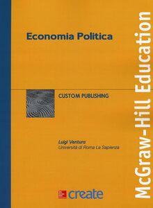 Foto Cover di Economia politica, Libro di Luigi Ventura, edito da McGraw-Hill Education