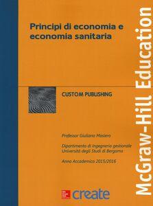Libro Principi di economia e economia sanitaria Giuliano Masiero