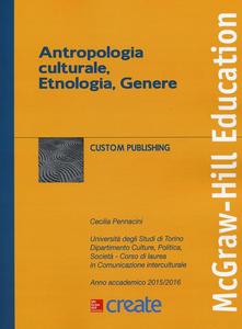 Libro Antropologia culturale, etnologia, genere Cecilia Pennacini