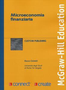 Microeconomia finanziaria - copertina
