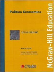 Politica economica - copertina