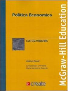 Libro Politica economica