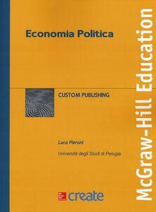 Libro Economia politica Luca Pieroni