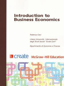 Introduction to business economics - Federica Ceci - copertina