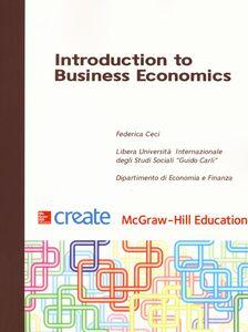 Libro Introduction to business economics Federica Ceci