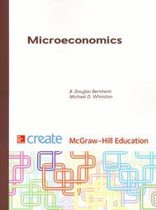 Libro Microeconomics Douglas B. Bernheim , Michael D. Whinston