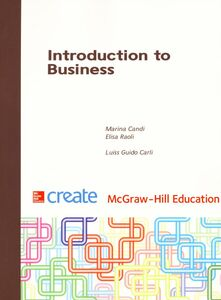 Foto Cover di Introduction to business, Libro di Marina Candi,Elisa Raoli, edito da McGraw-Hill Education