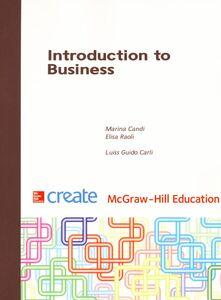 Libro Introduction to business Marina Candi , Elisa Raoli