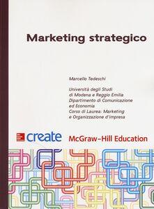 Libro Marketing strategico Marcello Tedeschi