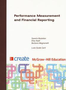 Performance measurement and financial reporting - Saverio Bozzolan,Elisa Raoli,Barbara S. Magnanelli - copertina
