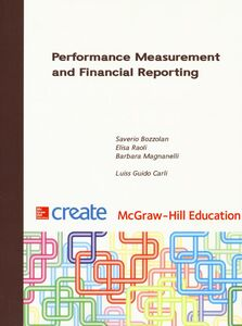 Libro Performance measurement and financial reporting Saverio Bozzolan , Elisa Raoli , Barbara S. Magnanelli