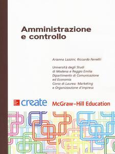 Amministrazione e controllo - Arianna Lazzini,Riccardo Ferretti - copertina