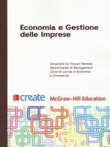 Foto Cover di Economia e gestione delle imprese, Libro di  edito da McGraw-Hill Education