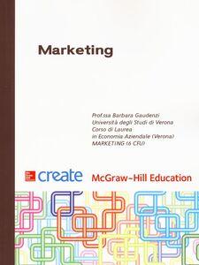 Libro Marketing Barbara Gaudenzi