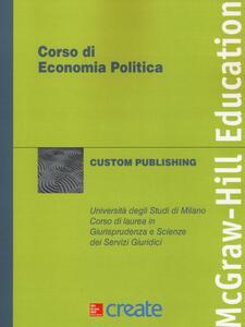 Corso di economia politica - copertina