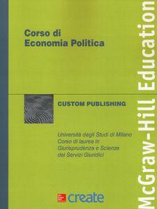 Foto Cover di Corso di economia politica, Libro di  edito da McGraw-Hill Education