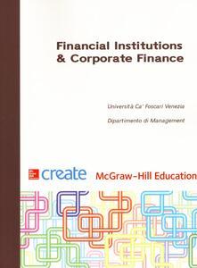Financial institutions & corporate finance - copertina