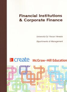 Foto Cover di Financial Institutions & Corporate Finance, Libro di  edito da McGraw-Hill Education