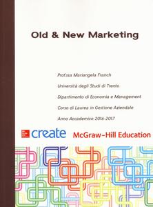 Libro Old & new marketing Mariangela Franch