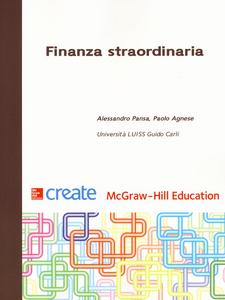 Libro Finanza straordinaria Alessandro Pansa , Paolo Agnese