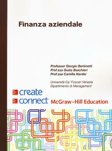 Foto Cover di Finanza aziendale, Libro di AA.VV edito da McGraw-Hill Education