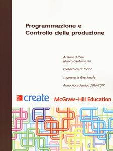 Libro Programmazione e controllo della produzione Arianna Alfieri , Marco Cantamessa