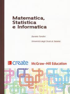 Matematica, statistica e informatica - Daniela Tondini - copertina