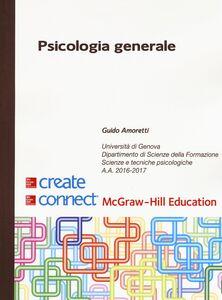 Libro Psicologia generale Guido Amoretti
